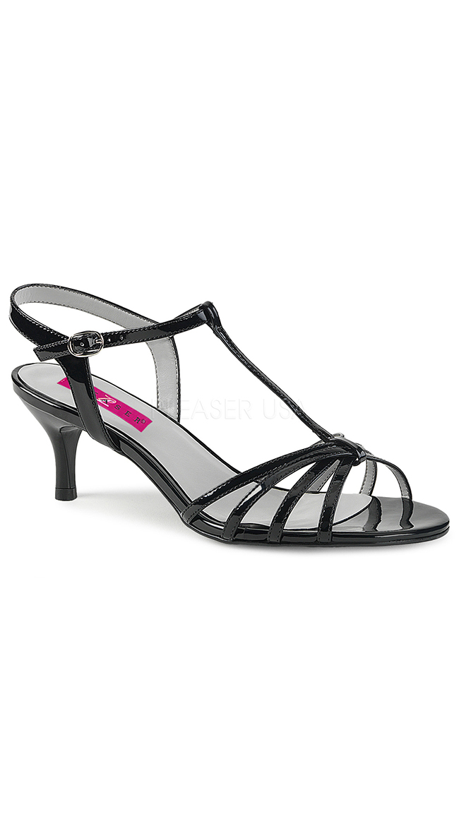 """2 1/2"""" Multi-Strapped Sandal by Pleaser"""