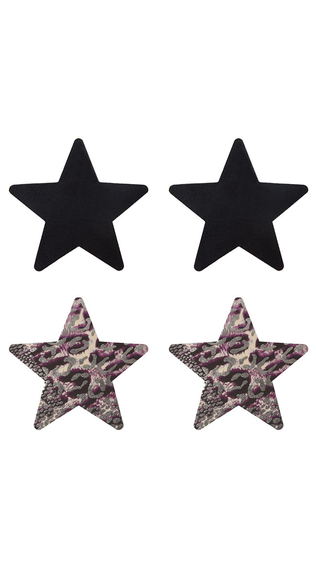 2-Pack Animal Spirit Star Pasties by XGEN Products - sexy lingerie
