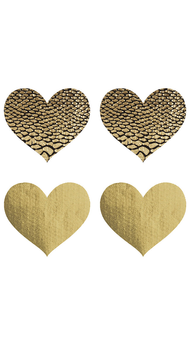 2-Pack Glam-o-rama Hearts by XGEN Products - sexy lingerie