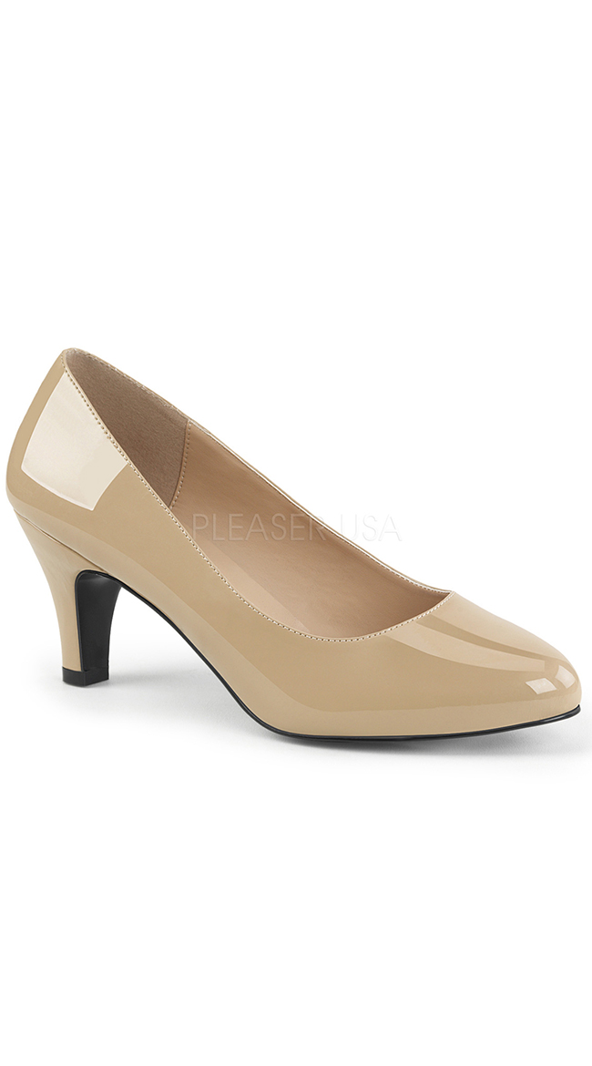 """3"""" Classic Nude Pump by Pleaser"""