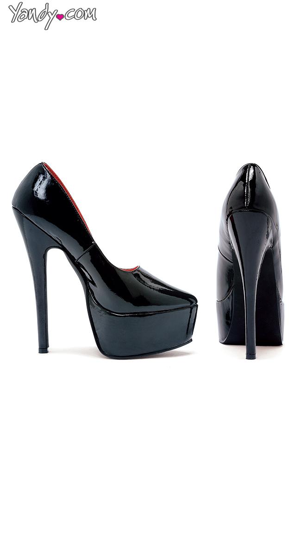 "6.5"" Stiletto Heel Pumps by Ellie Shoes"