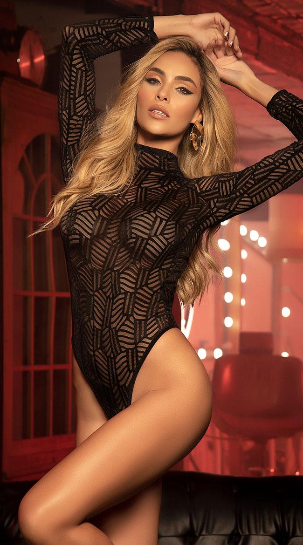Acute Senses Long Sleeve Bodysuit by Mapale