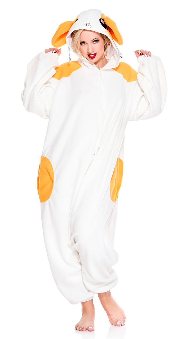 Adorable Hamster Onesie Costume by Music Legs - sexy lingerie