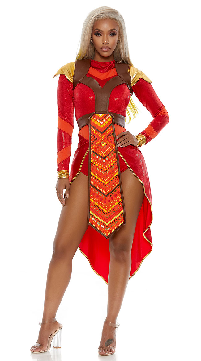 African Warrior Costume by Forplay