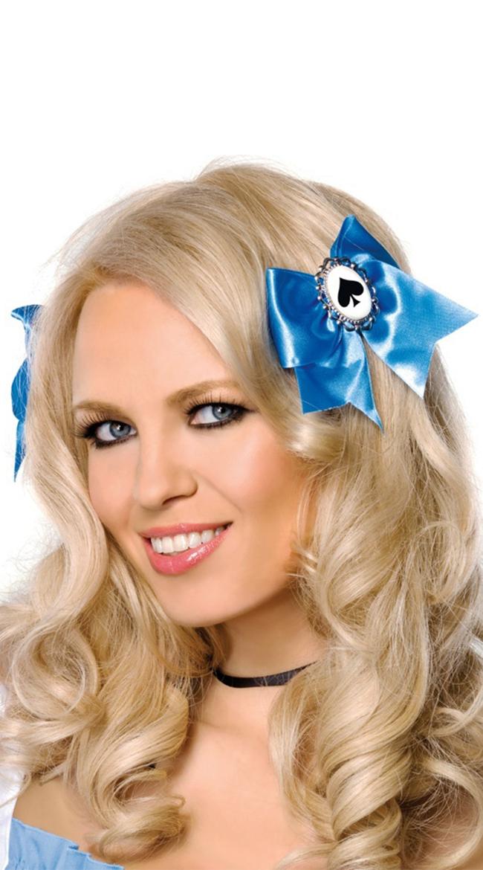 Alice Hair Bows by Leg Avenue