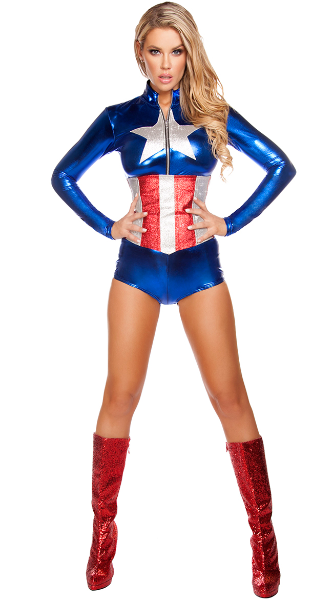 All American Temptress Costume by Roma