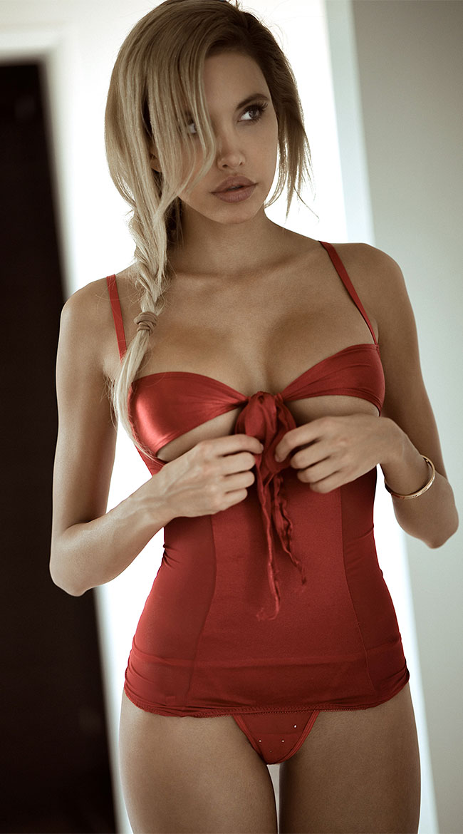 All Wrapped Up Bustier by Seven 'Til Midnight