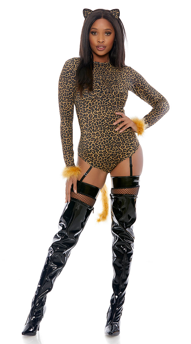 Always Spotted Leopard Costume by Forplay