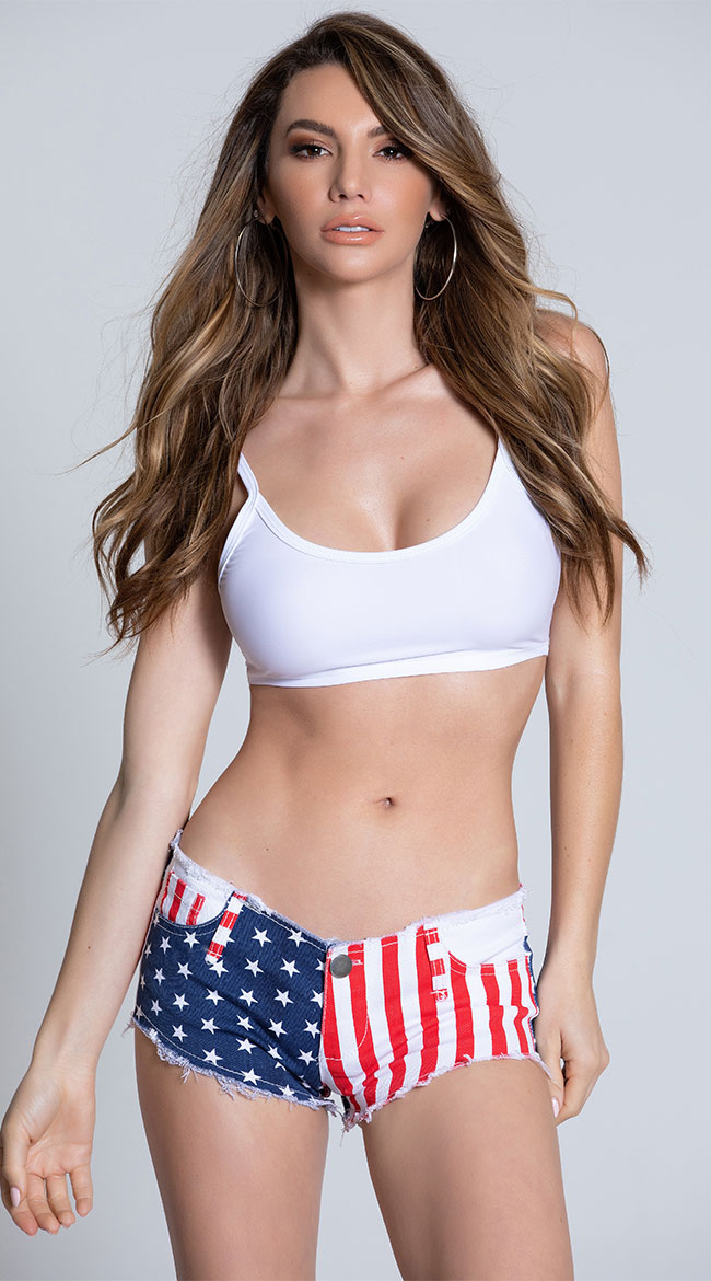 American Booty Shorts by Be Wicked
