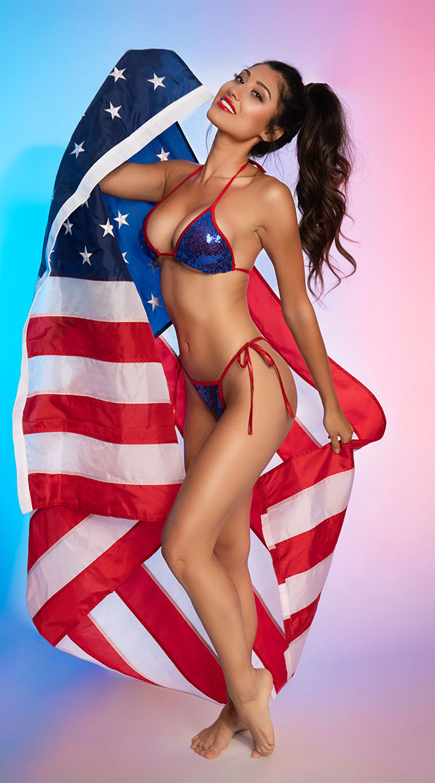 American Glam Bikini Set by Midnight Ballerina - sexy lingerie