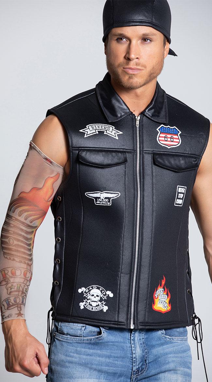 Bad Biker Costume by California Costumes