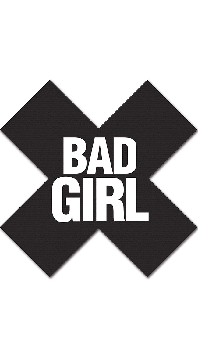 Bad Girl Cross Pasties Pack by XGEN Products