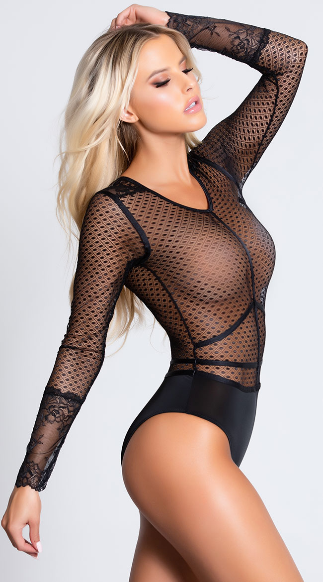 Bad Intentions Bodysuit by Coquette