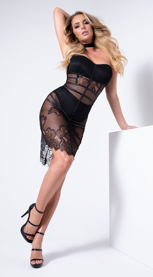 Bad Intentions Lingerie Gown by Coquette
