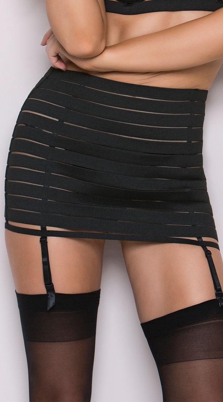 Bandage Style Garter Belt Set by Oh La La Cheri