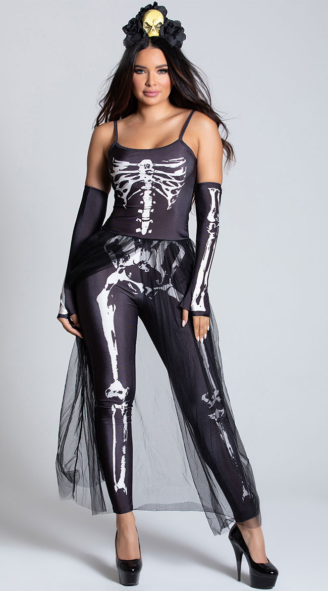 Bare Bones Babe Costume by Dreamgirl