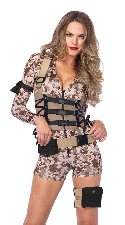 Battlefield Babe Costume by Leg Avenue