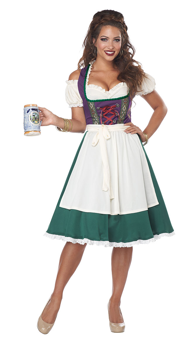 Bavarian Beer Maid Costume by California Costumes