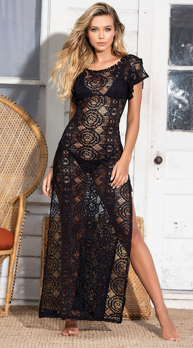 Beach House Cover-Up Maxi Dress by Mapale