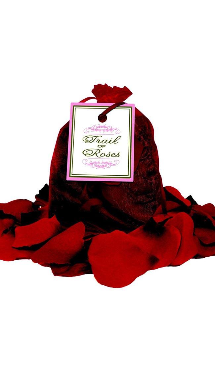 Bed of Rose Petals in Organza Bag by Entrenue / Artificial Rose Petals