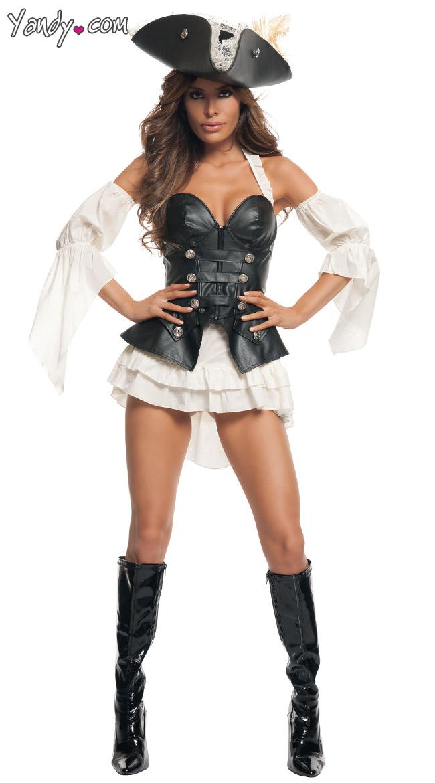 Black Pearl Pirate Costume by Starline