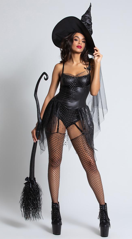 Black Spider Witch Costume by Starline