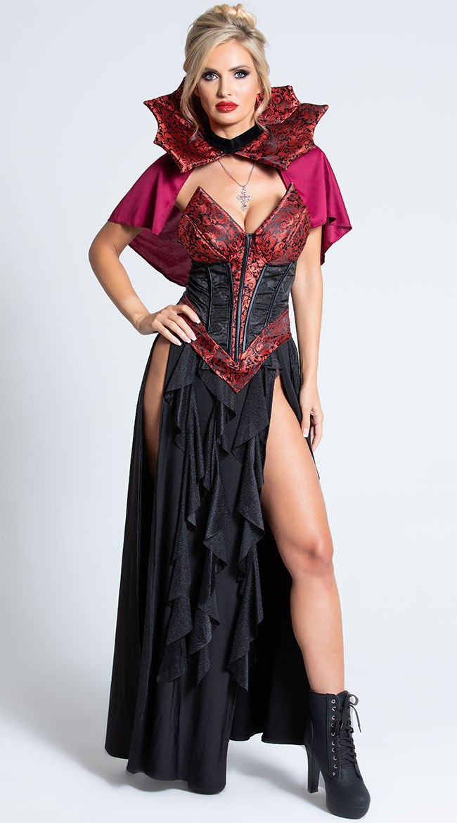 Blood Lusting Vampire Costume by Roma