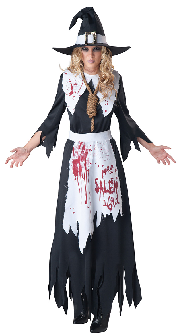 Bloodstained Salem Witch Costume by In Character Costumes