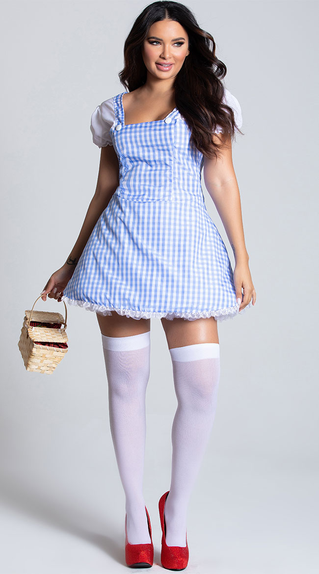 Blue Gingham Dress Costume by Dreamgirl