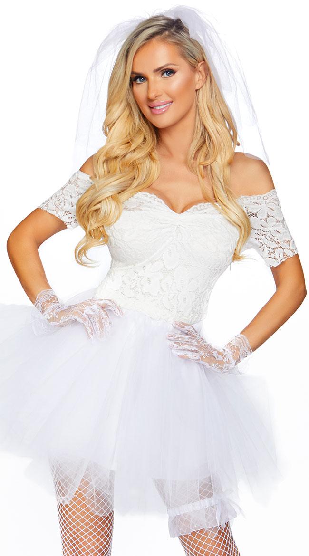Blushing Bride Costume by Leg Avenue