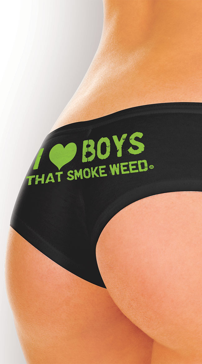 Boys and Weed Booty Short by XGEN Products