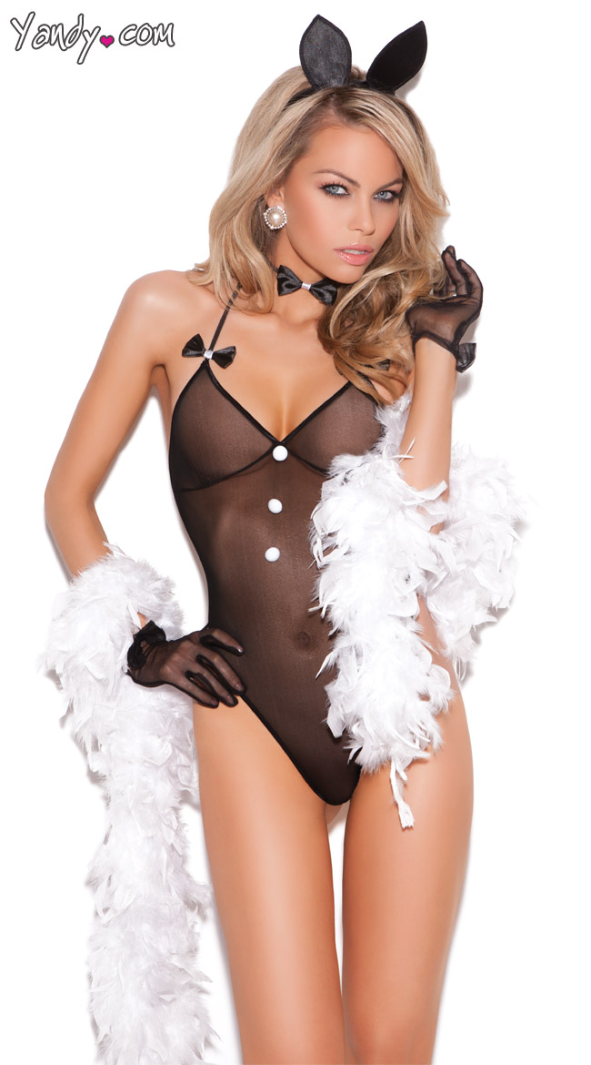 Bunny Love Lingerie Costume by Elegant Moments