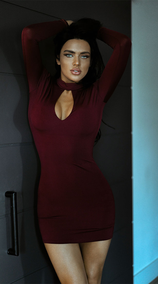 Call Me Baby Red Dress by Roma