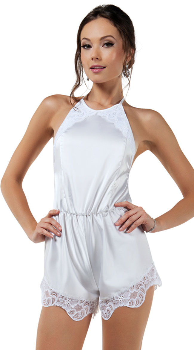 Charming White Romper by Starline