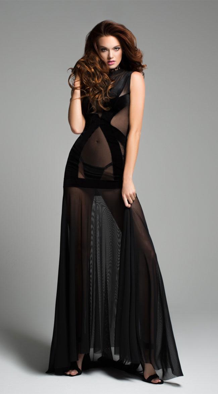 Chloe The Naked Dress by Allure Lingerie