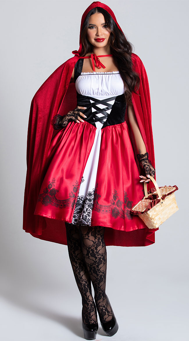 Classic Red Riding Hood Costume by Leg Avenue