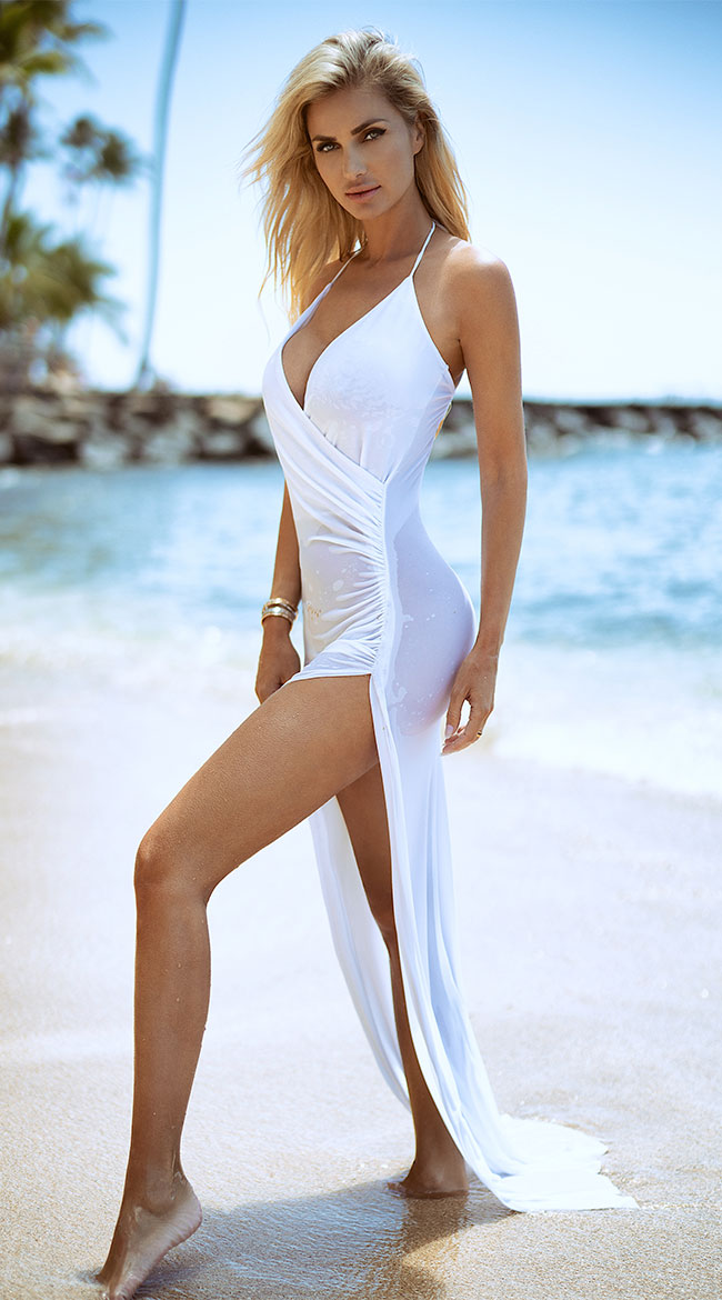 Classically Sexy White Dress by Roma