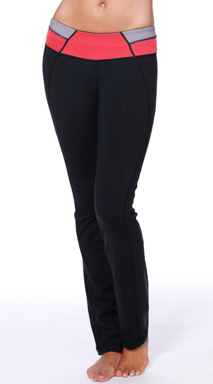 Colorblock Yoga Pants by NikiBiki