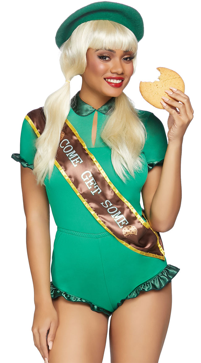 Cookie Scout Costume by Leg Avenue