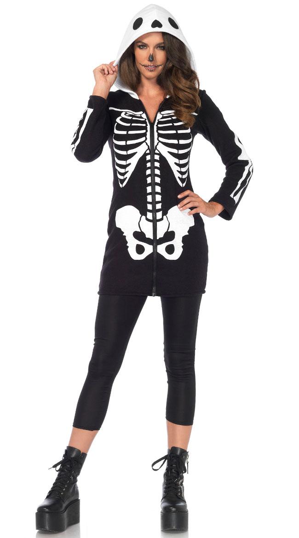 Cozy Skeleton Costume by Yandy LA