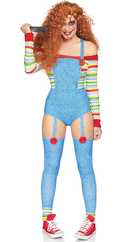 Creepy Killer Doll Costume by Leg Avenue