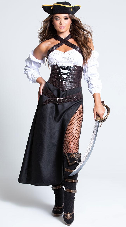 Cutlass Captain Costume by Music Legs
