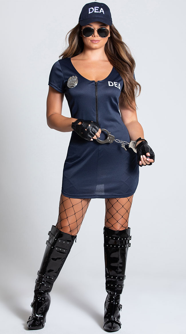 DEA Agent Costume by Dreamgirl