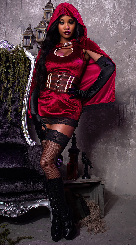 Dark Red Riding Hood Costume by Starline