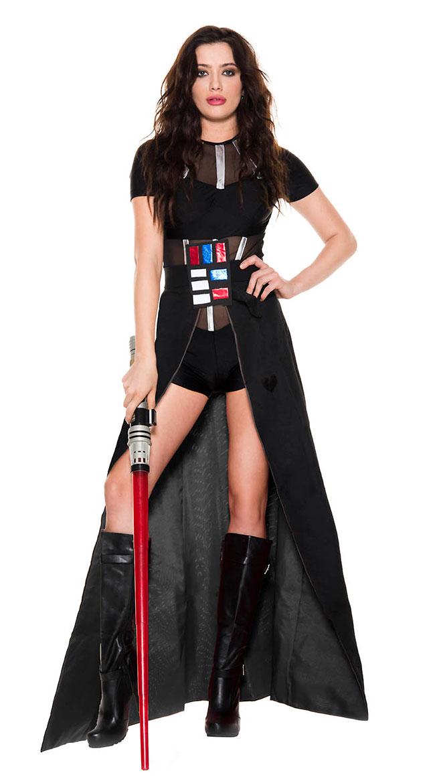 Dark Star Lady Costume by Music Legs