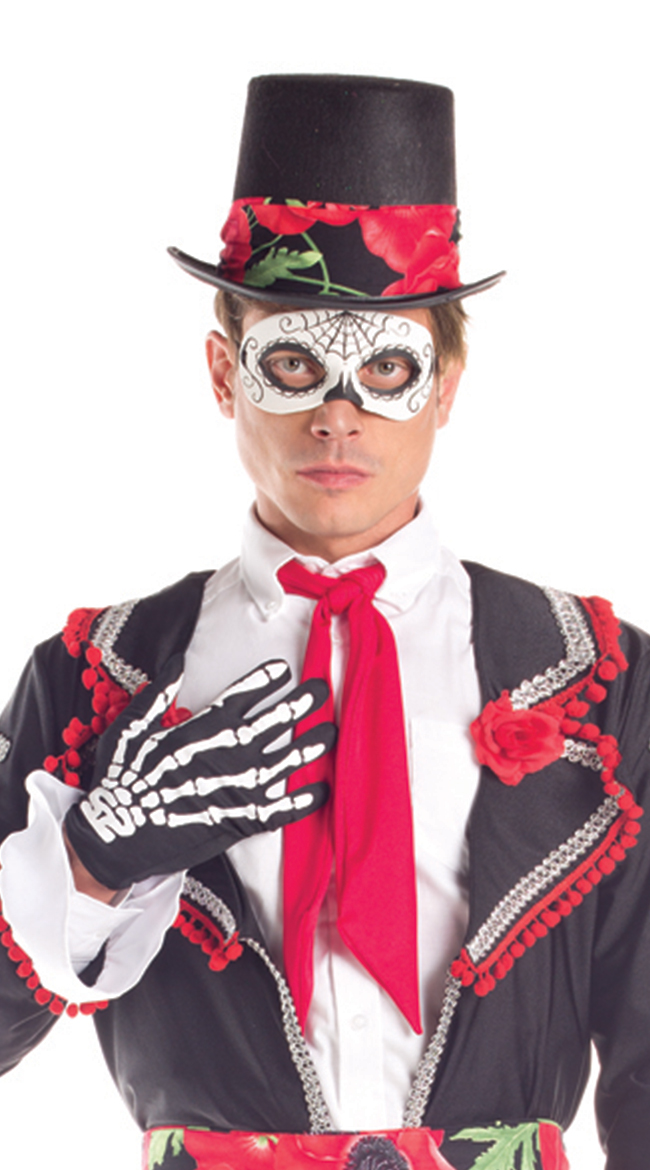 Day of the Dead Top Hat by Party King