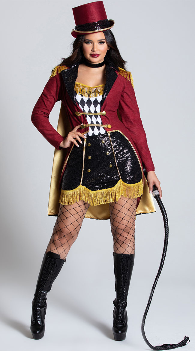Dazzling Ringmaster Costume by California Costumes