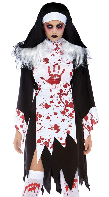 Deadly Nun Costume by Leg Avenue