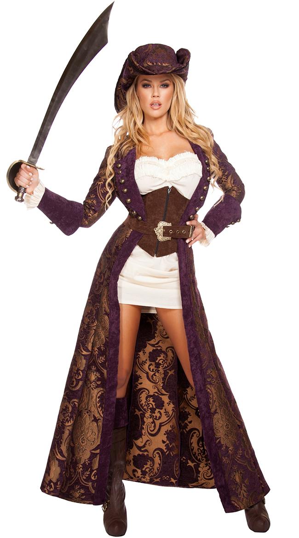 Decadent Pirate Diva Costume by Roma