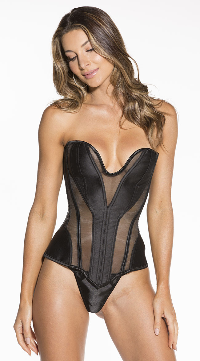 Deep Dive Corset Set by Shirley of Hollywood